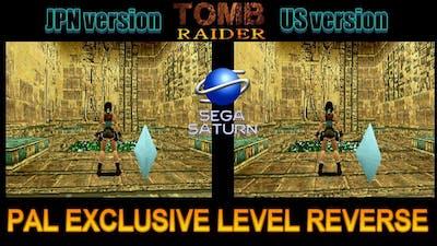 Tomb Raider - Pal Exclusive Short Cut -  Game Crashes on US/JPN (Sega Saturn)