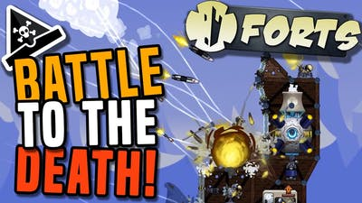 BATTLE TO THE DEATH! Forts gameplay - Forts game - awesome new strategy game!
