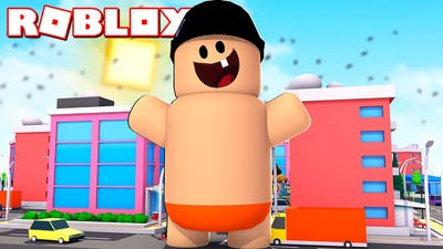 I'm a very VERY big baby... | Baby Simulator Roblox