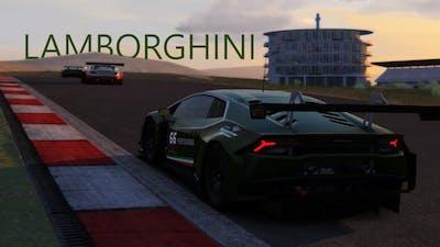 GT3 Portimao Portugal Lamborghini Realistic Simulator AC Ultimate Gameplay Logitech G29 + shifter