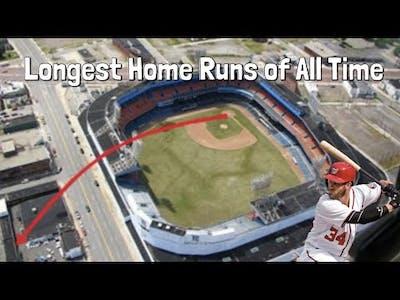 MLB Longest Home Runs of All Time