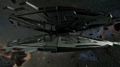 Battlestar Galactica Deadlock - Autocam Battle Footage