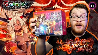 VARIANT CARDS!   Advent of the Demon King - Booster Box   Force of Will TCG