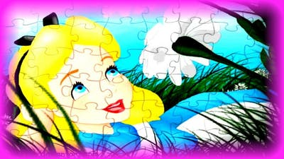 Alice in Wonderland - Kids Learn & Play Toy Puzzle Games