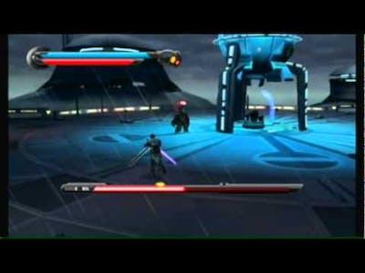 Star Wars The Force Unleashed 2 - Darth Vader Boss battle ( Final Boss )
