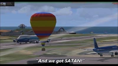 funny moments on flight simulator x