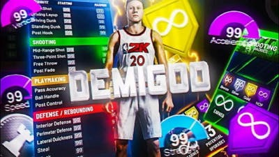 I BROKE THE GAME WITH THIS *DEMIGOD* BUILD NBA2k21 NEXT GEN