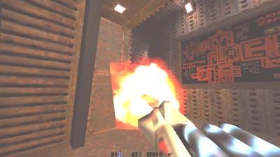 Quake 2 Mission Pack II Ground Zero (map RAMMO2)