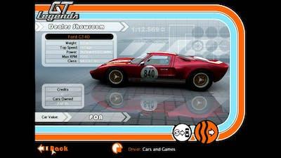 Car List - GT Legends