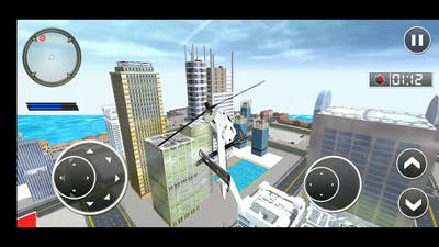 Emergency Ambulance and helicopter Simulator #1 Simulator game play # Android and ios