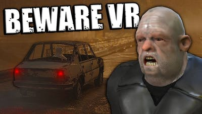Getting Chased By Scary Henchmen in VR- Beware Virtual Reality Gameplay - Scary Car Game