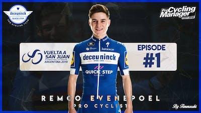 PCM18: Remco Evenepoel #1 / Prologue / Pro Cyclist Mode / @Timmsoski