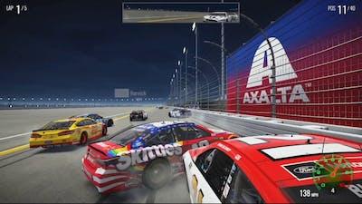NASCAR Heat 2 Crash Compilation #1
