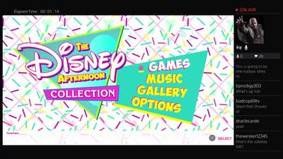 Silent Rob Fragments - Disney Afternoon Collection