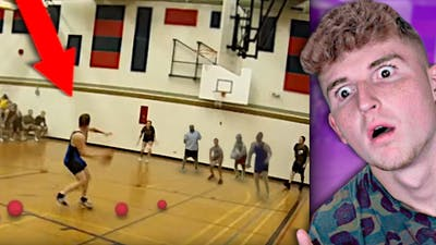 Kid Beats Entire Dodge Ball Team In 30 SECONDS..