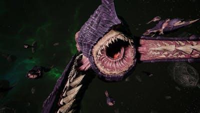 Skalgrim Mod 2021: Pyroclastic Titan - Tyranids vs Orks - Battlefleet Gothic Armada 2
