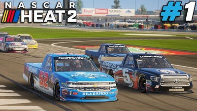 And So It Begins! |#1| NASCAR Heat 2 Career