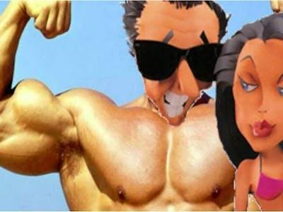 Leisure Suit Larry 3 Part 1 - The Mighty Has Fallen