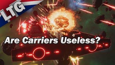 Are Carriers Useless? Battlefleet Gothic Armada 2