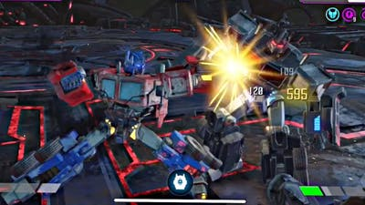 Act 4.3.6 Nemesis Prime boss fight -Transformers Forge To Fight