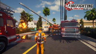 First Look at Firefighting Simulator The Squad