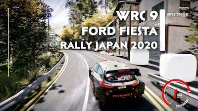 Ford Fiesta WRC | Rally Japan 2020 | WRC 9 FIA WORLD RALLY CHAMPIONSHIP [TPP & FPP]
