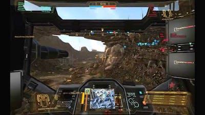 MechWarrior Online Shadow Hawk 2H gameplay