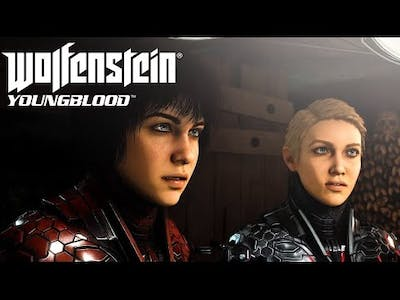 Wolfenstein Youngblood Shooting fps game - Jelly Games