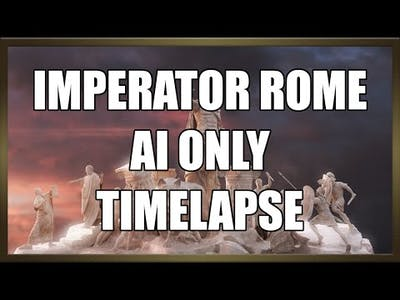 Imperator Rome: AI  Only Timelapse