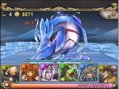 Tower of Saviors - The Deep Seabed - Greedy Dragon King