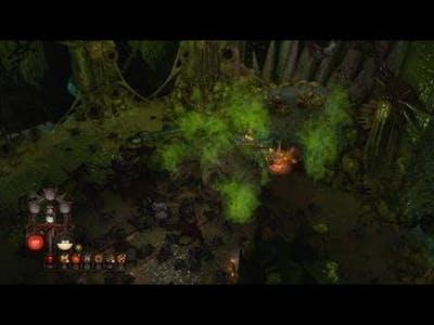 Warhammer Chaosbane_Boss fight with witch hunter