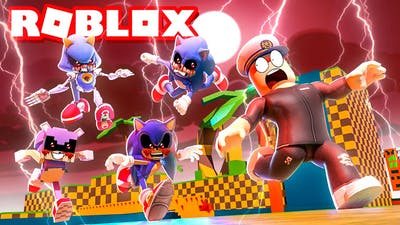Playing MORE SONIC.EXE GAMES in ROBLOX