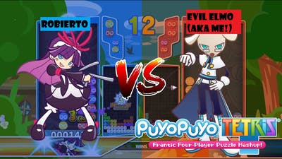 My First game of Swap Puyo Puyo Tetris