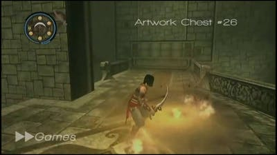 Prince of Persia - Warrior Within [All 50 Artwork Locations]
