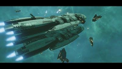 Battlestar Galactica Deadlock Sin and Sacrifice Final Mission v2 offensive stance.
