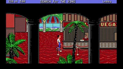 Les Manley in Search for the King gameplay on Dosbox for Windows 10