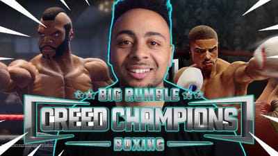 ADRIAN!!! | Big Rumble Boxing: Creed Champions Gameplay.