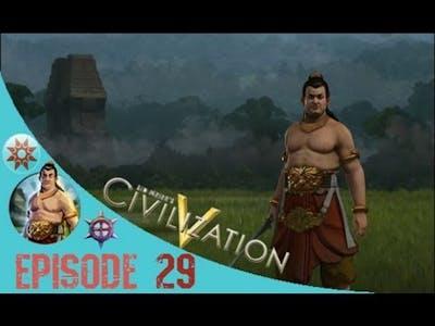 Civilization 5 Brave New World Gameplay: Indonesia Playthrough Episode 29: Battle for Ulundi