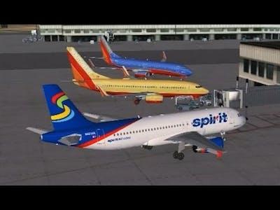 VATSIM Group Flight   Departing LAX with Full ATC   FSX Steam Edition