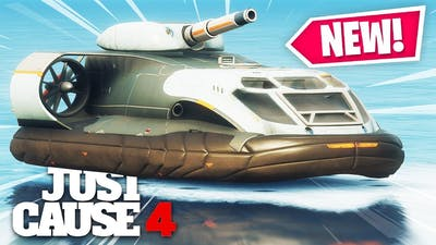 Just Cause 4 - NEW HUGE ARMORED HOVERCRAFT!