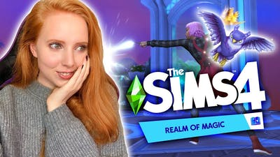BRAND NEW MAGICAL GAME PACK! ✨ THE SIMS 4: REALM OF MAGIC TRAILER REACTION