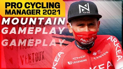 Pro Cycling Manager 2021 : MOUNTAIN GAMEPLAY // Mont Ventoux ft. Nairo Quintana