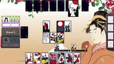 Koi-Koi Japan [Hanafuda Playing Cards] Episode 3