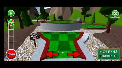 Mini Golf 3D 2 game play part 1