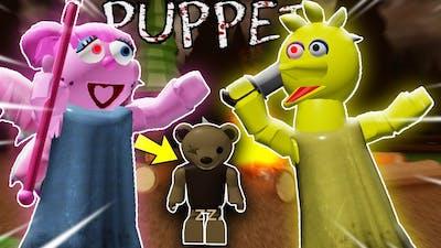 ROBLOX PUPPET CH2/CH3 BIG BIRD VS ABBY!! | PIGGY Fan Game