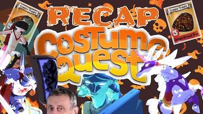 Costume Quest Let's Play Recap