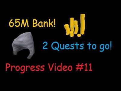 Old School RS - 65M CASH! Quest Cape goal almost Complete! - Progress Video #11