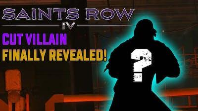 Saints Row 4 Cut Villain Mystery Finally Solved!