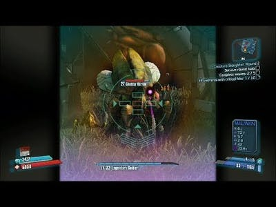 Borderlands 2 Walkthrough: Creature Slaughter - Round 2