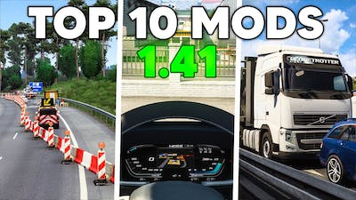 TOP 10 Mods for ETS2 1.41